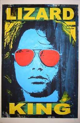Jim Morrison lizard king