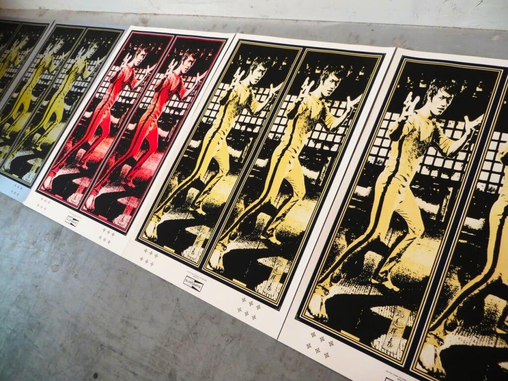 Bruce Lee - Blunt Graffix