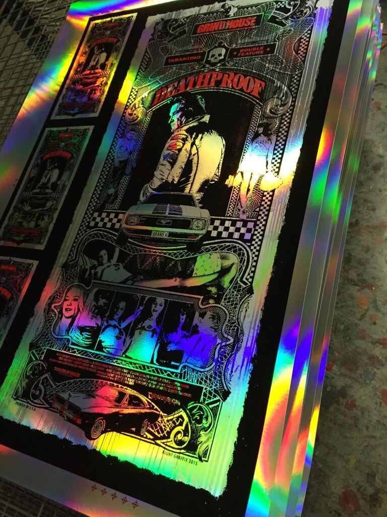 deathproof rainbow foil