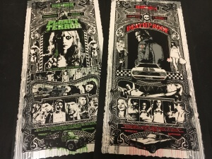 Blunt Graffix Grindhouse Handbills Set