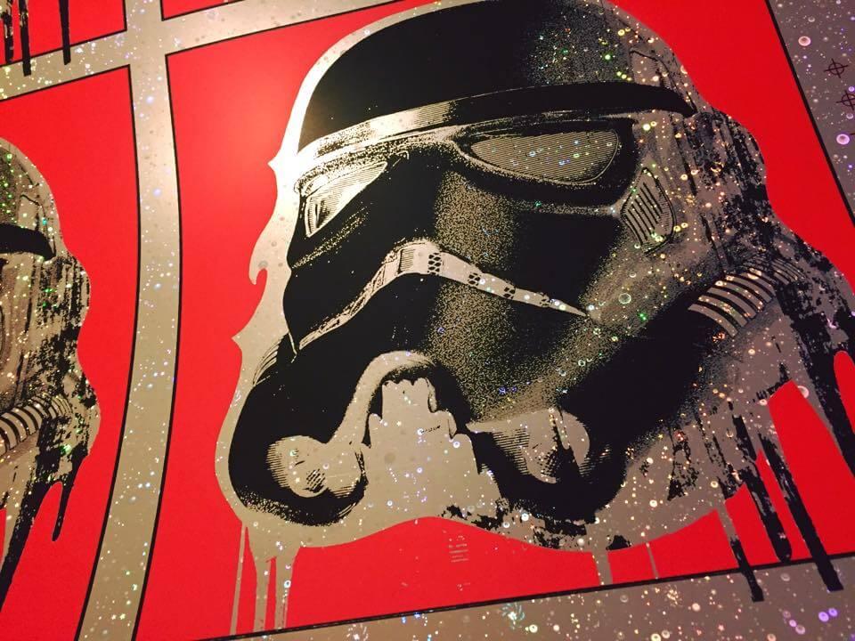 Galactic Foil Blunt Graffix
